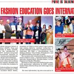Indian Fashion Education Goes International... Pune Times - 1sr March 2017